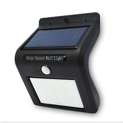 Соларна LED лампа със сензор за движение - 16 LED крушки