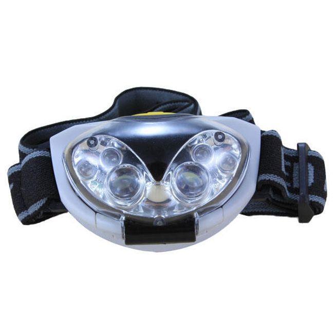6 LED fényszóró 3x AAA elemhez 1