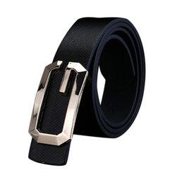 Unisex pásek s kovovou sponou - 5 barev