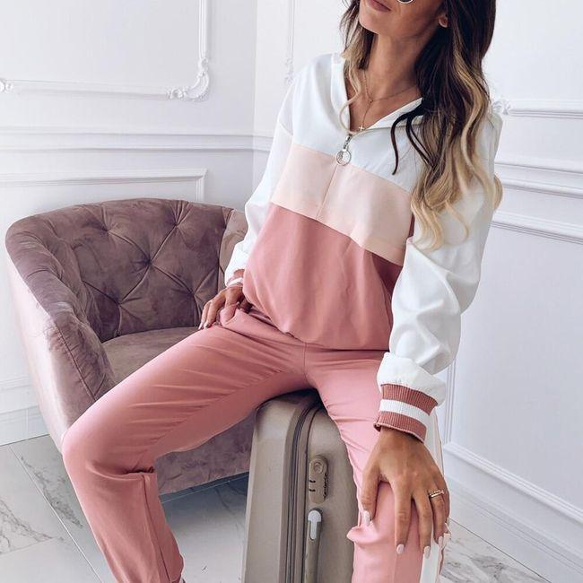 Komplet damski - spodnie i bluza Tg4 1