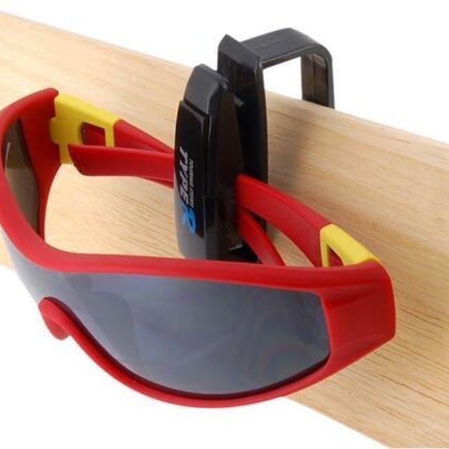 Uchwyt na okulary z praktycznym klipsem 1
