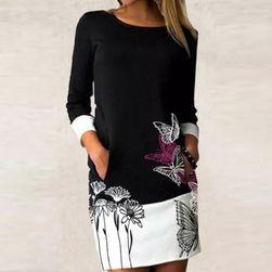 Ženska obleka z dolgimi rokavi Avianna