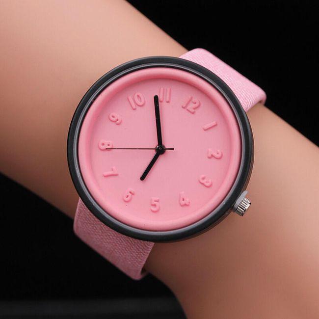 Dámské barevné hodinky 1