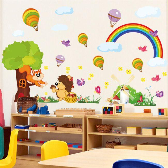 Dětská samolepka na zeď S01 1