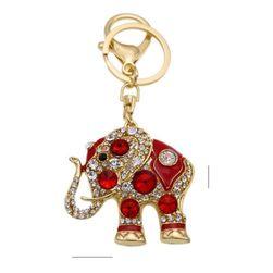 Přívěsek na klíče ve tvaru slona - 2 varianty