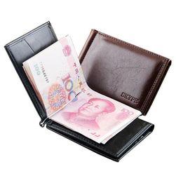 Muški novčanik sa kopčom - 2 boje