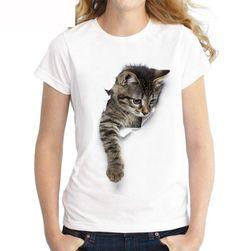 Dámské tričko s krátkým rukávem Kočinela