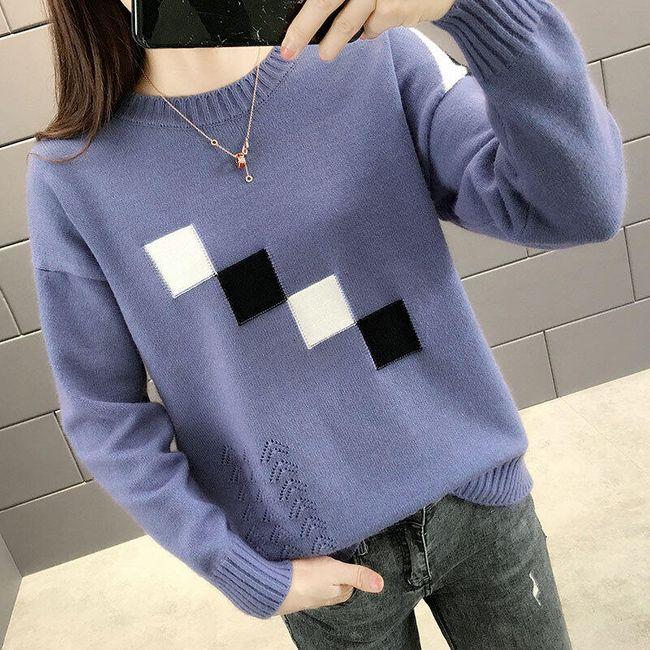 Damski sweter EW55 1