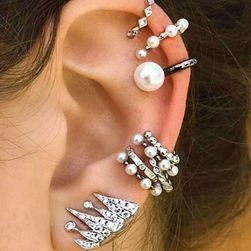 Náušnice lemujúce ucho - sada 9 kusov
