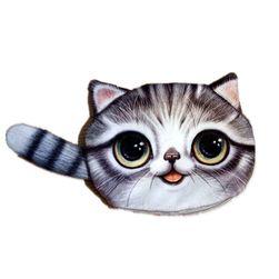 Malá peněženka s motivem kočičky - 4 varianty
