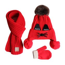 Детская шапка и шарф DC478