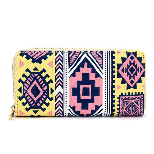 Mintás női pénztárca - 7 változat