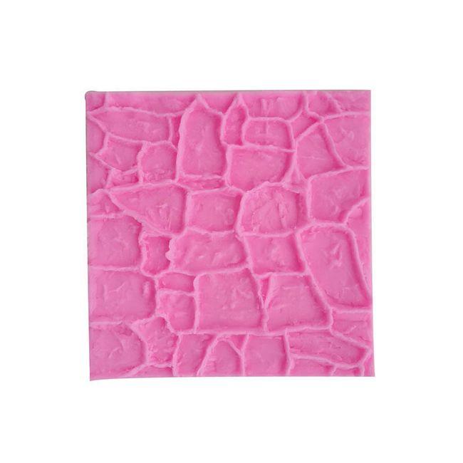 Silikonski kalup - tekstura kamna 1