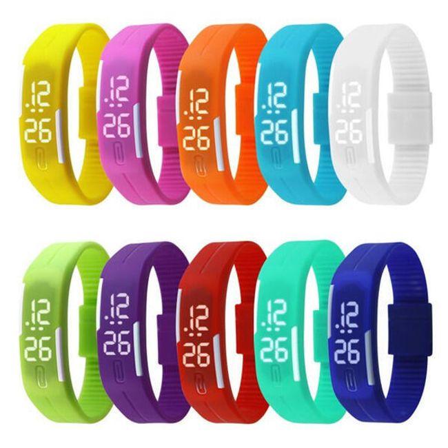 Ceas digital silicon - diverse culori 1