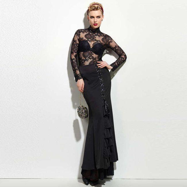 Dámská dlouhá sukně ve vintage stylu 1