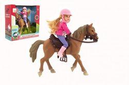 Kôň sa sedlom plast 15 cm v krabičke 19x14x5cm RM_00850386