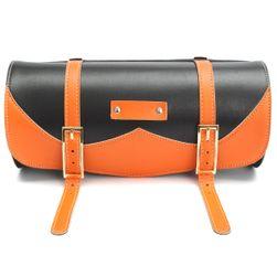 Motorkerékpár táska - narancs szinű