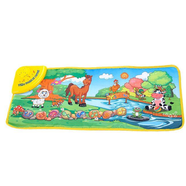 Dětský hudební kobereček - Zvířátka u potoku 1