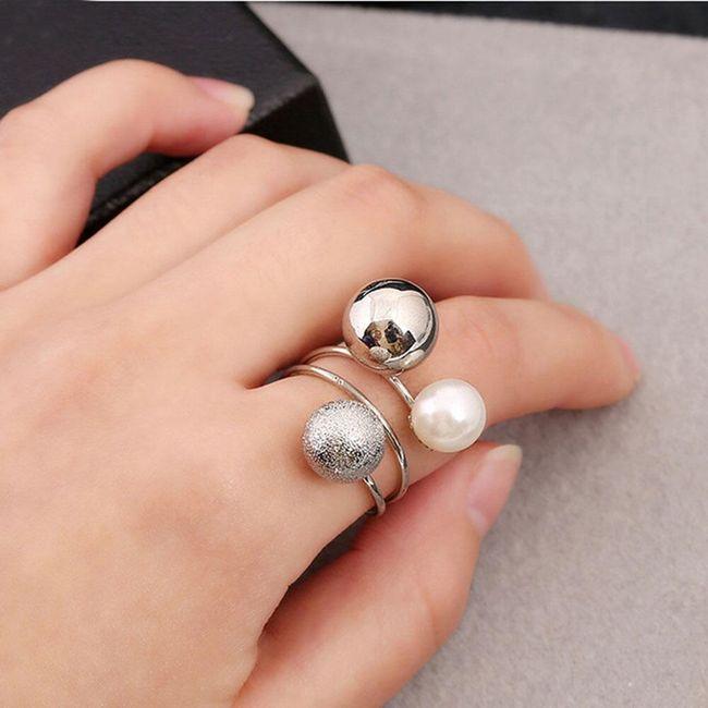 Dámský prstýnek B04797 1