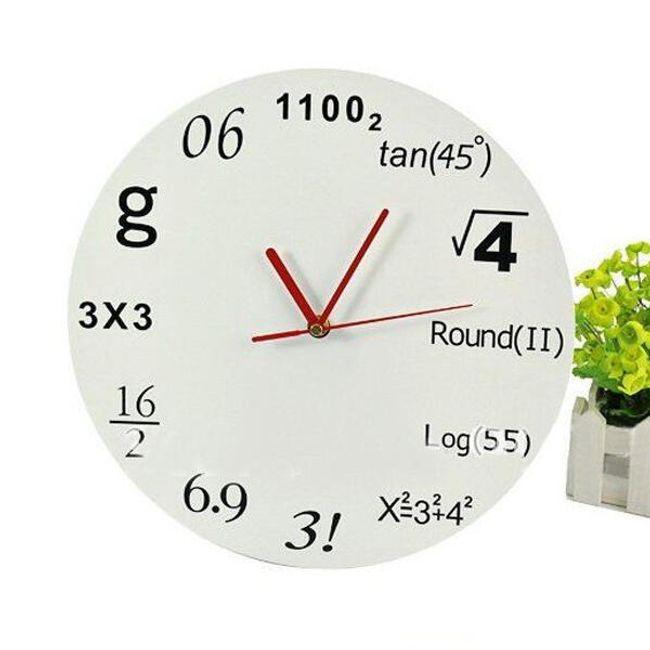 Moderní nástěnné hodiny pro matematiky 1