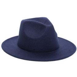 Jesienny kapelusz z filcu - różne kolory