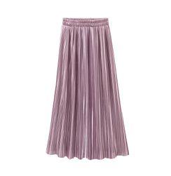 Dlouhá skládaná sukně - různé barvy