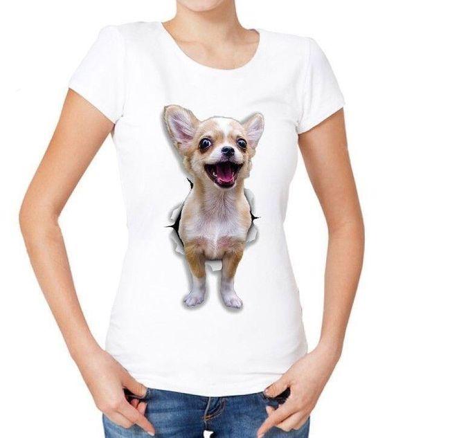 Damska koszulka z krótkim rękawem Letty 1