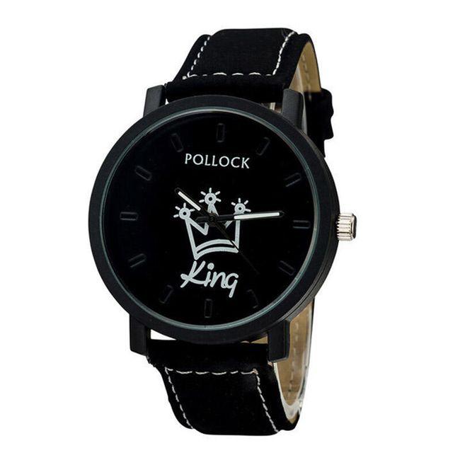 Analogové hodinky KING a QUEEN - různé druhy 1