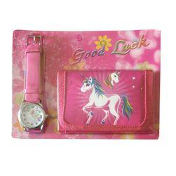 Часовник и портфейл за момичета