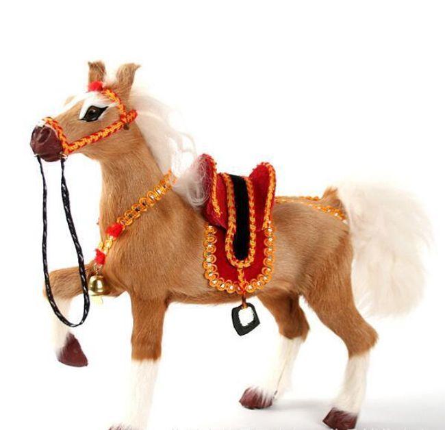 Plyšový kůň BJ07 1