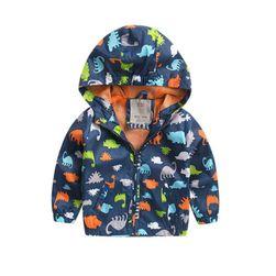 Dětská bunda s motivem dinosaurů - 2 varianty