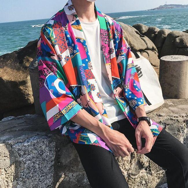 Férfi tavaszi kabát Ewane