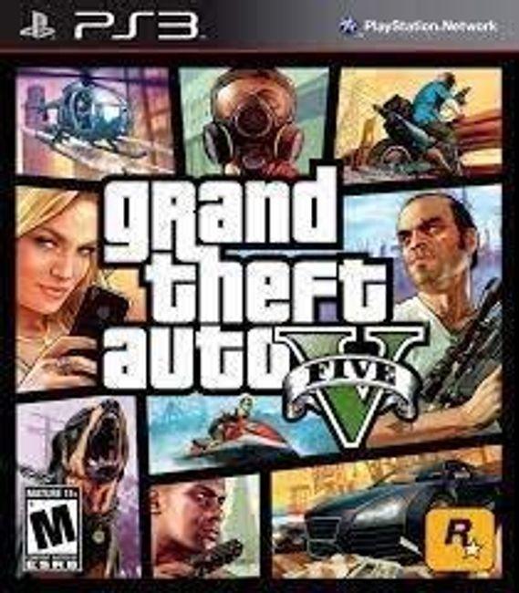 Gra  (PS3) GTA V 1