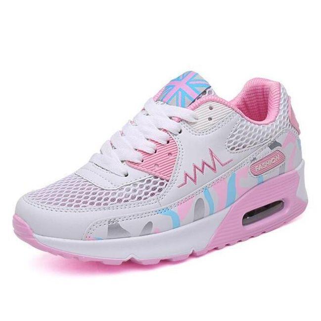 Dámské botasky v pastelových barvách 1