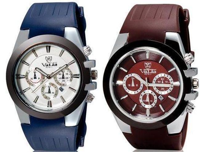 Pánské hodinky Valia se silikonovým páskem - 2 barvy 1