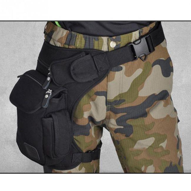 Taktička torbica za bedro 1