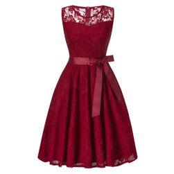 Čipkasta retro obleka - 6 barv