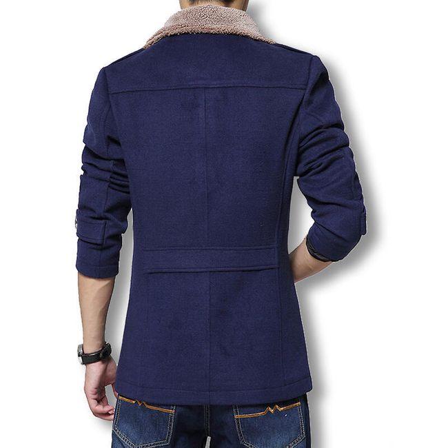 Férfi bélelt kabát Kane - 4 szín