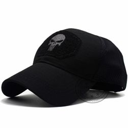 Kšiltovka SB521 skull Černá