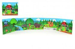 Cărticica Leporelo - Primele mele animale din pădure, 13,5x11x1,5cm de la 24 luni RM_11400104