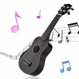 Sopránové ukulele v černé barvě