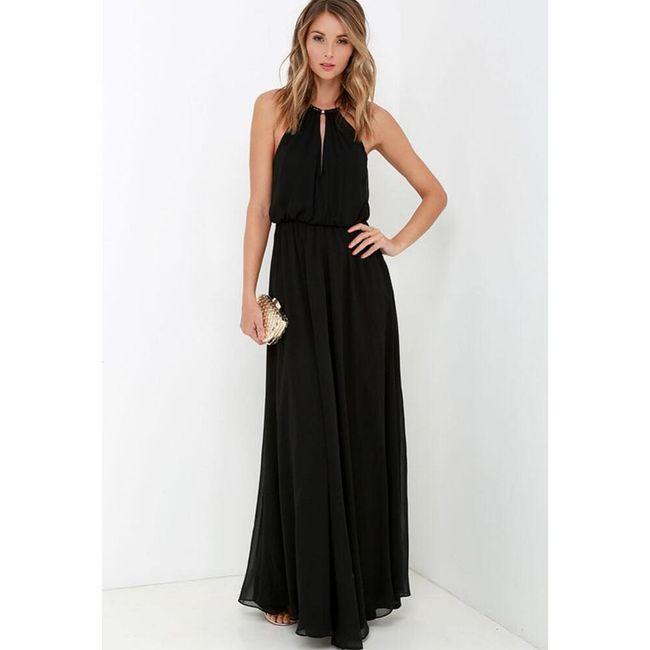 Dlouhé dámské šaty Soria 1