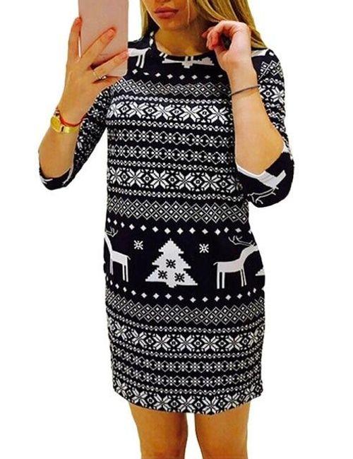 Karácsonyi ruha 2 szín | ShipGratis.hu