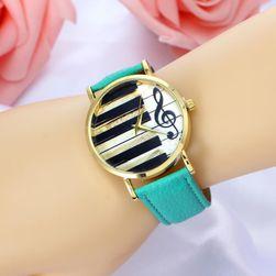 Ženski ručni sat sa muzičkim motivima