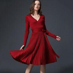 Ženska pletena haljina Barbara