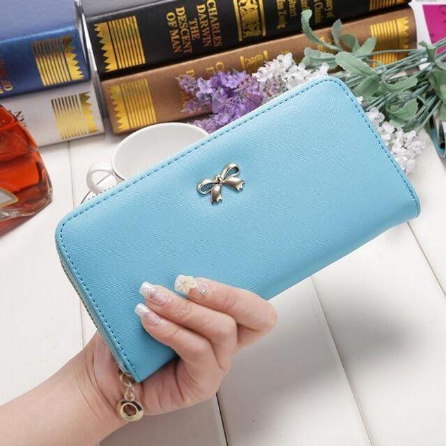 Női pénztárca íjjal - 6 szín