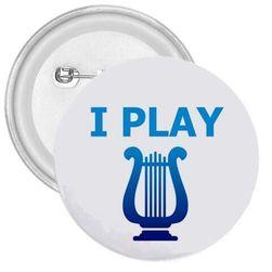 Placka Hraji na hudební nástroj