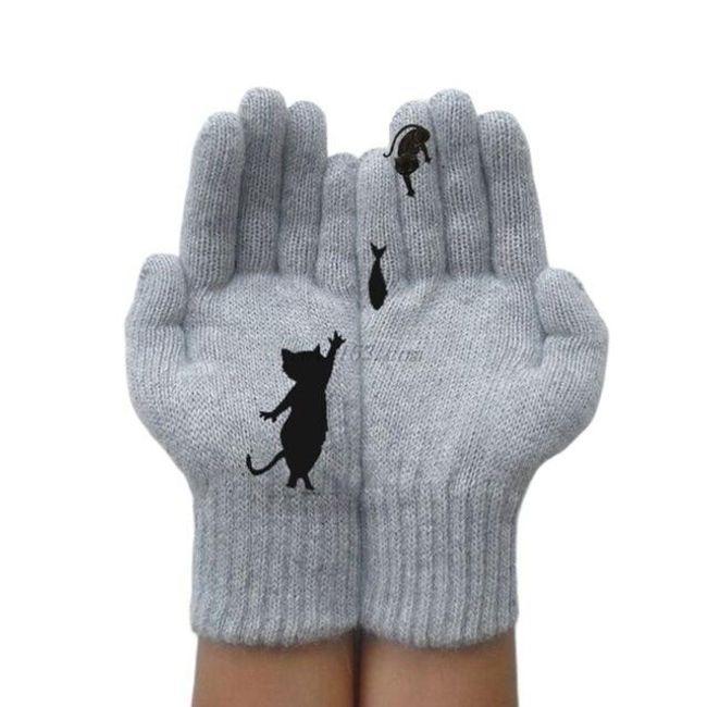 Damskie rękawiczki DAR09 1