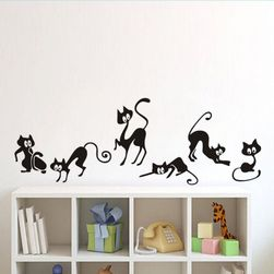 Naljepnica za zid - 6 maca