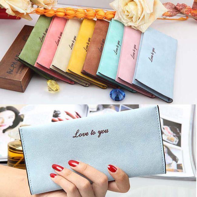 Dámská peněženka v 8 barvách 1